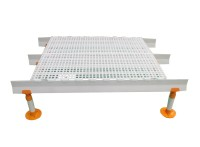 专用耐腐蚀防滑塑料漏粪板 养殖场用漏粪板