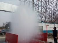 江孜县渣土车洗车平台工地车辆洗车机