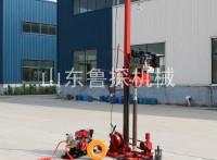 30米岩土取样钻机找山东鲁探QZ-3小型易搬运的工程钻探机
