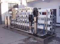 河北衡水一体化污水处理,农村生活有机污水处理反渗透装置