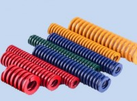 65MN模具彈簧黃藍紅綠茶色大量現貨