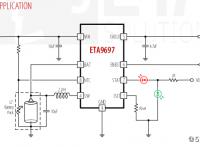 ETA9697藍牙耳機TWS充電盒5V常開超低功耗1ua