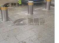 武漢不銹鋼阻車路樁 武昌升降路樁批發 鋼精靈升降路樁
