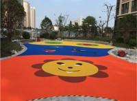 水性耐用的上海幼兒園ETPU塑膠跑道施工