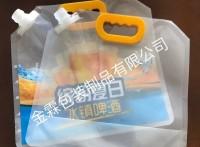 金霖包装/供应乌鲁木齐啤酒包装,扎啤包装,鲜啤包装袋,可定做