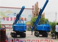青海供应 履带式光伏打桩机价格 360度旋转压桩机