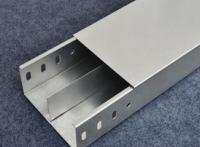 厂家供应全国发货镀锌隔板式槽式桥架300*100江西电缆桥架