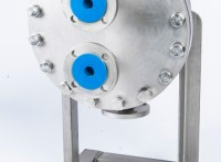 圆形板片板壳式换热器厂家直供