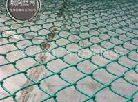 生产涂塑球场围栏网 现货篮球场围网 绿色草坪pvc护栏