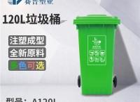 SHIPU120L小区垃圾箱厂家