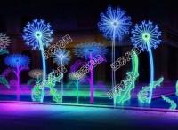 全國多地開啟中秋夜景燈光節出售廠家流光溢彩燈光展出售