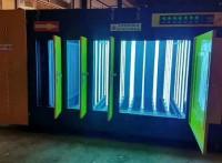 UV光氧净化器结构特点: