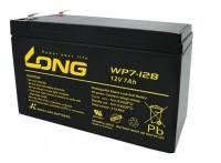 LONG 广隆蓄电池WP7-12B 12V7AH