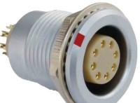 沿溪连接器8芯母座航空接插件仪器信号传输采集器工业我x你xx连接口