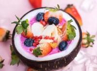 果王椰子碗意想不到的美味和新奇 成為人們的心愛甜品