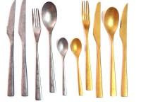抖音網紅款不銹鋼復古懷舊西餐餐具刀叉勺牛排刀叉