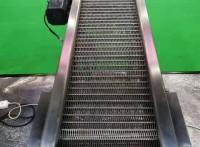 奧輝機械專業定做食品飲料輸送鏈板耐磨損抗高溫沖孔傳動鏈板