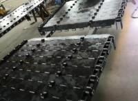 不銹鋼鏈板輸送機網帶 鏈片式網帶