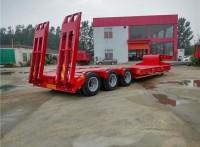 13米挖掘机运输低平板半挂车公告规格型号及价格