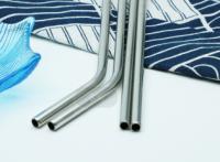 食品級304不銹鋼吸管創意金屬彩色套裝飲料咖啡奶茶直管彎管