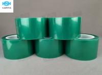 绿色PET高温胶带 烤漆喷涂胶带 电镀遮蔽胶带