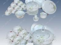 陶瓷餐具套装定做 景德镇陶瓷礼品订制厂家