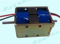 双线圈推拉式电磁铁/正负极通电磁保持电磁铁