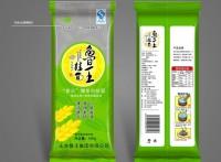 专业生产濮阳市鲜面条包装袋【低筋面粉包装袋】自立拉链袋;