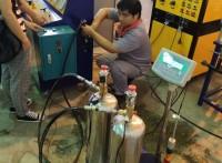 七氟丙烷/CO2检测设备检测范围 药剂充装系统3C认证设备