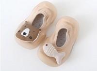 现货特价热销防滑软底透气减震耐磨精梳棉地板鞋