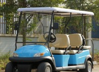 6座电动高尔夫球车,景区自驾旅游电动观光车
