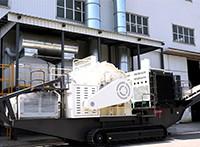 时产300吨鹅卵石移动制沙机JYX81