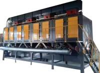 北京印刷廠VOCs催化燃燒設備活性炭吸附脫附環保箱2萬風量