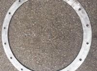 3mm通风管道连接镀锌钢带法兰304不锈钢定制圆形风管法兰