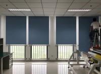 北京办公室窗帘遮阳帘定做办公卷帘公寓窗帘餐厅纱帘公司百叶帘
