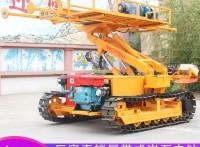 山东恒旺供应小型履带锚固钻机 履带岩石电钻 多功能地质钻机