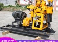 HW-160型柴油液压打井机 水井钻机 山东恒旺钻井设备