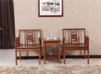 木言木语中式圈椅 健康养生实木家具 休闲实木圈椅