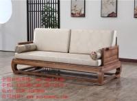 木言木语中式实木沙发特惠客厅新中式实木沙发超低价