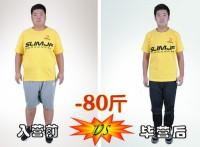 西安一成人男性在冬令营从253斤到173斤的蜕变历程