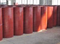 无锡碳钢焊接风管化工厂无漏风耐高温圆形黑铁焊接风管1.0mm