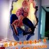 全国高架桥彩绘墙面、公路主干道彩绘墙体广告