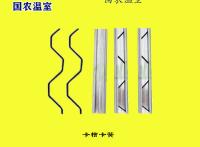 温室大棚骨架配件 镀锌防风卡槽卡簧压膜簧 高锌层温室配件卡簧