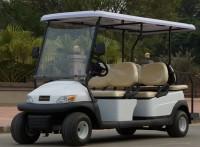 高尔夫球车6座观光车草坪车