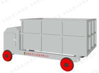 美圆TIP系列中药提取自动出卸渣机车系统