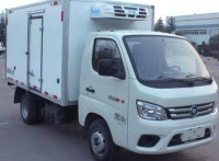 福田国六汽油冷藏车厂家优惠价格