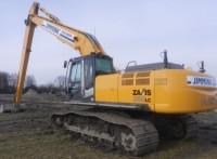 河南日立EX400挖掘机加长臂低价促销