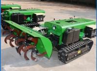 履带式开沟旋耕机 履带式果园开沟施肥机 履带式水田旋耕机