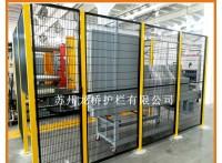 镇江设备围栏厂家 工业防护围栏 镀锌网钢管烤漆 高质量