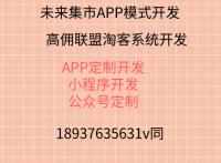 未来集市APP商城模式源码开发未来集市APP源码定制